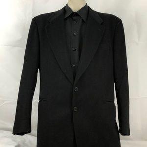 Pal Zileri 100% Rayon Black Blazer 42R